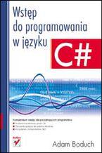 Okładka książki Wstęp do programowania w języku C#