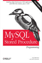Okładka książki MySQL Stored Procedure Programming