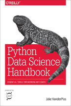 Okładka książki Python Data Science Handbook. Essential Tools for Working with Data