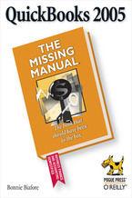 Okładka książki QuickBooks 2005: The Missing Manual. The Missing Manual