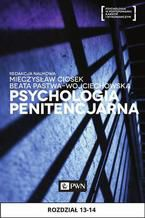 Psychologia penitencjarna. Rozdział 13-14