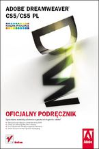 Okładka książki Adobe Dreamweaver CS5/CS5 PL. Oficjalny podręcznik