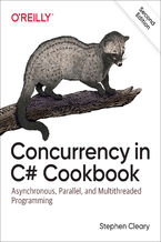 Okładka książki Concurrency in C# Cookbook. Asynchronous, Parallel, and Multithreaded Programming. 2nd Edition