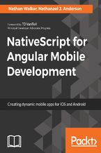 Okładka książki NativeScript for Angular Mobile Development