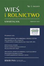 Wieś i Rolnictwo nr 1(182)/2019