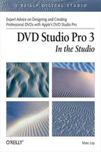 Okładka książki DVD Studio Pro 3: In the Studio. In the Studio