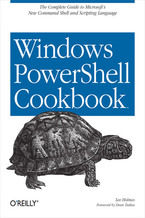 Okładka książki Windows PowerShell Cookbook. for Windows, Exchange 2007, and MOM V3