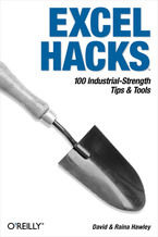 Okładka książki Excel Hacks. 100 Industrial Strength Tips and Tools