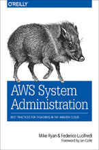 Okładka książki AWS System Administration. Best Practices for Sysadmins in the Amazon Cloud