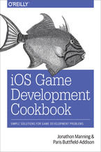 Okładka książki iOS Game Development Cookbook