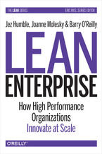 Okładka książki Lean Enterprise. How High Performance Organizations Innovate at Scale