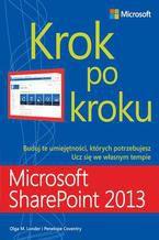 Okładka książki Microsoft SharePoint 2013 Krok po kroku