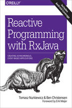 Okładka książki Reactive Programming with RxJava. Creating Asynchronous, Event-Based Applications