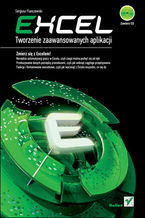 Okładka książki Excel. Tworzenie zaawansowanych aplikacji