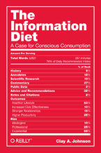 The Information Diet. A Case for Conscious Comsumption