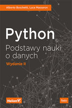 Python. Podstawy nauki o danych. Wydanie II