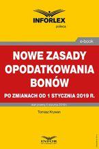 Nowe zasady opodatkowania bonów po zmianach od 1 stycznia 2019 r