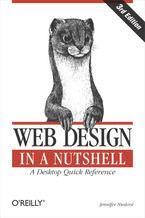 Okładka książki Web Design in a Nutshell. A Desktop Quick Reference. 3rd Edition