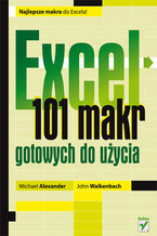 Okładka książki Excel. 101 makr gotowych do użycia