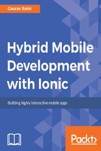 Okładka książki Hybrid Mobile Development with Ionic