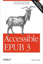 Okładka książki Accessible EPUB 3