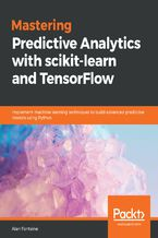 Okładka książki Mastering Predictive Analytics with scikit-learn and TensorFlow