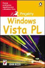 Okładka książki Windows Vista PL. Projekty