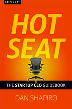 Okładka książki Hot Seat. The Startup CEO Guid