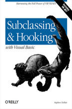 Okładka książki Subclassing and Hooking with Visual Basic