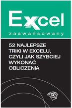 Okładka książki 52 najlepsze triki w Excelu, czyli jak szybciej wykonać obliczenia