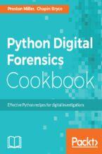 Okładka książki Python Digital Forensics Cookbook