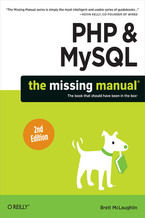 Okładka książki PHP & MySQL: The Missing Manual. 2nd Edition