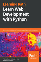 Okładka książki Learn Web Development with Python