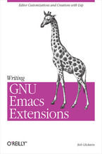 Okładka książki Writing GNU Emacs Extensions. Editor Customizations and Creations with Lisp