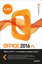 Okładka książki Office 2016 PL. Kurs