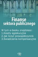 Finanse sektora publicznego, wydanie grudzień 2015 r