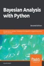 Okładka książki Bayesian Analysis with Python