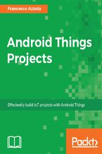 Okładka książki Android Things Projects