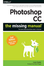 Okładka książki Photoshop CC: The Missing Manual. Covers 2014 release. 2nd Edition