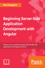 Okładka książki Beginning Server-Side Application Development with Angular