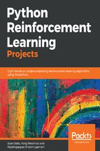 Okładka książki Python Reinforcement Learning Projects