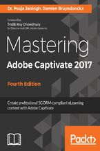 Okładka książki Mastering Adobe Captivate 2017 - Fourth Edition