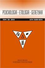 Psychologia-Etologia-Genetyka nr 28/2013 - Ewa Małgorzata Szepietowska, Barbara Gawda: Gramatyczne, semantyczne i afektywne cechy fluencji słownej: jakie czynniki determinują ich wykonanie?