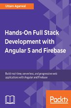 Okładka książki Hands-on Full Stack Development with Angular 5 and Firebase