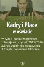 Kadry i Płace w oświacie, wydanie sierpień 2015 r