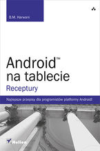 Okładka książki Android na tablecie. Receptury