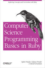 Okładka książki Computer Science Programming Basics in Ruby