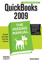 Okładka książki QuickBooks 2009: The Missing Manual