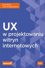Okładka książki UX w projektowaniu witryn internetowych
