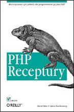 Okładka książki PHP. Receptury